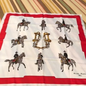 Accessories - Equestrian Scarf NWOT